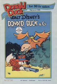 Cover Thumbnail for Donald Duck for 30 år siden (Hjemmet / Egmont, 1978 series) #3/1980