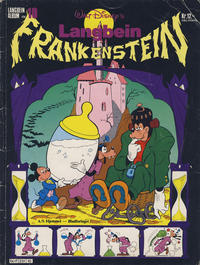 Cover Thumbnail for Langbein album (Hjemmet / Egmont, 1977 series) #10 - Langbein Frankenstein