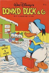 Cover Thumbnail for Donald Duck & Co (Hjemmet / Egmont, 1948 series) #2/1980