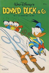 Cover Thumbnail for Donald Duck & Co (Hjemmet / Egmont, 1948 series) #4/1980