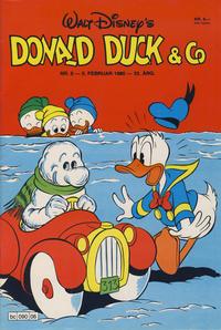 Cover Thumbnail for Donald Duck & Co (Hjemmet / Egmont, 1948 series) #6/1980