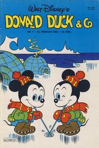 Cover Thumbnail for Donald Duck & Co (Hjemmet / Egmont, 1948 series) #7/1980