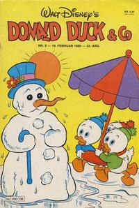 Cover Thumbnail for Donald Duck & Co (Hjemmet / Egmont, 1948 series) #8/1980