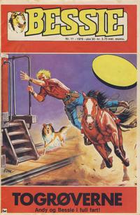 Cover Thumbnail for Bessie (Nordisk Forlag, 1973 series) #11/1976