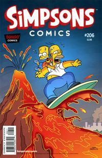 Cover Thumbnail for Simpsons Comics (Bongo, 1993 series) #206