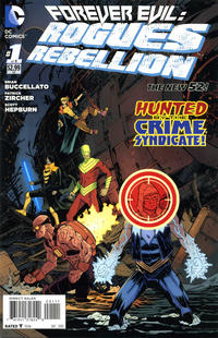 Cover Thumbnail for Forever Evil: Rogues Rebellion (DC, 2013 series) #1