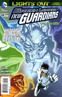 Cover Thumbnail for Green Lantern: New Guardians (DC, 2011 series) #24 [Direct Sales]