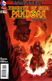 Cover Thumbnail for Trinity of Sin: Pandora (DC, 2013 series) #4