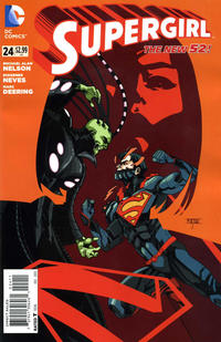 Cover Thumbnail for Supergirl (DC, 2011 series) #24
