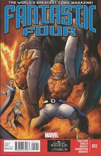 Cover Thumbnail for Fantastic Four (Marvel, 2013 series) #12