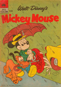 Cover Thumbnail for Walt Disney's Mickey Mouse (W. G. Publications; Wogan Publications, 1956 series) #40