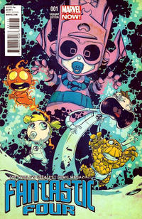 Cover Thumbnail for Fantastic Four (Marvel, 2013 series) #1 [Marvel Babies Variant by Skottie Young]