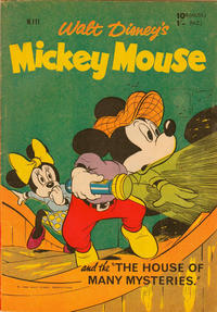 Cover Thumbnail for Walt Disney's Mickey Mouse (W. G. Publications; Wogan Publications, 1956 series) #111