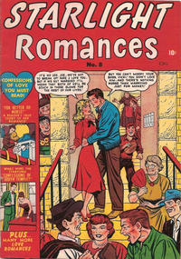 Cover Thumbnail for Starlight Romances (Bell Features, 1951 series) #8