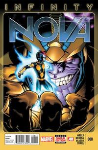 Cover Thumbnail for Nova (Marvel, 2013 series) #8 [Ed McGuinness Cover]