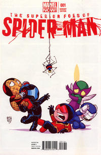 Cover for The Superior Foes of Spider-Man (Marvel, 2013 series) #1 [Skottie Young Variant Cover]