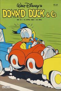 Cover Thumbnail for Donald Duck & Co (Hjemmet / Egmont, 1948 series) #16/1980