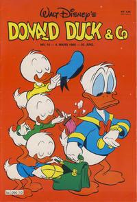 Cover Thumbnail for Donald Duck & Co (Hjemmet / Egmont, 1948 series) #10/1980