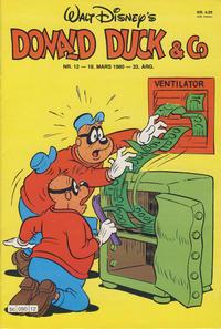 Cover Thumbnail for Donald Duck & Co (Hjemmet / Egmont, 1948 series) #12/1980
