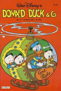 Cover Thumbnail for Donald Duck & Co (Hjemmet / Egmont, 1948 series) #14/1980
