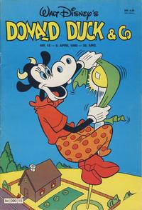 Cover Thumbnail for Donald Duck & Co (Hjemmet / Egmont, 1948 series) #15/1980