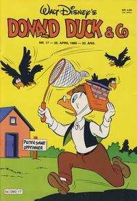 Cover Thumbnail for Donald Duck & Co (Hjemmet / Egmont, 1948 series) #17/1980