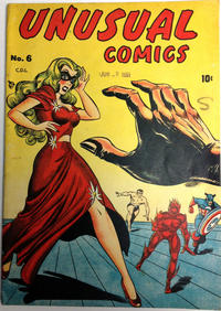 Cover Thumbnail for Unusual Comics (Bell Features, 1946 series) #6