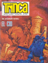 Cover Thumbnail for Trinca (Doncel, 1970 series) #20