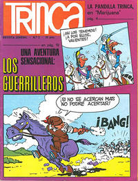 Cover for Trinca (Doncel, 1970 series) #3