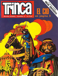 Cover Thumbnail for Trinca (Doncel, 1970 series) #12