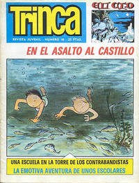 Cover Thumbnail for Trinca (Doncel, 1970 series) #18