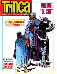 Cover Thumbnail for Trinca (Doncel, 1970 series) #35