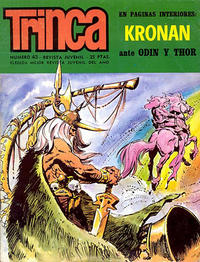 Cover Thumbnail for Trinca (Doncel, 1970 series) #43