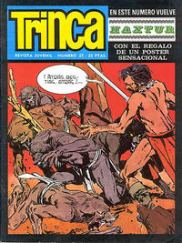 Cover Thumbnail for Trinca (Doncel, 1970 series) #25