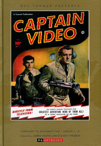 Cover Thumbnail for Roy Thomas Presents Captain Video (PS, 2013 series)