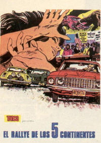 Cover Thumbnail for Colección Trinca (Doncel, 1971 series) #11 - El rallye de los 5 continentes