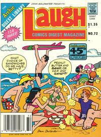 Cover Thumbnail for Laugh Comics Digest (Archie, 1974 series) #72