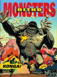 Cover Thumbnail for Ditko Monsters: Konga! (IDW, 2013 series) #[nn]