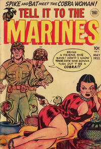 Cover Thumbnail for Tell It to the Marines (Superior Publishers Limited, 1952 series) #2
