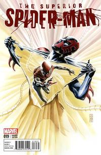 Cover Thumbnail for Superior Spider-Man (Marvel, 2013 series) #19 [Variant Cover by J. G. Jones]
