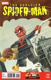 Cover Thumbnail for Superior Spider-Man (Marvel, 2013 series) #19 [Lego Variant Cover by Leonel Castellani]