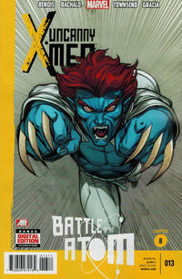 Cover Thumbnail for Uncanny X-Men (Marvel, 2013 series) #13 [Direct Edition]