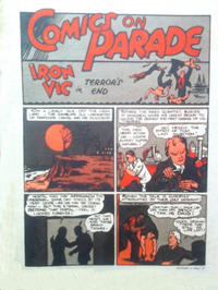 Cover Thumbnail for Comics on Parade: Iron Vic (L. Miller & Son, 1944 series) #[nn]