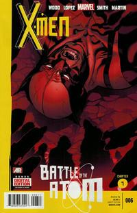 Cover Thumbnail for X-Men (Marvel, 2013 series) #6