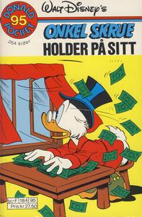Cover Thumbnail for Donald Pocket (Hjemmet / Egmont, 1968 series) #95 - Onkel Skrue holder på sitt [1. opplag]
