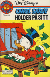 Cover Thumbnail for Donald Pocket (Hjemmet / Egmont, 1968 series) #95 - Onkel Skrue holder på sitt [Reutsendelse]