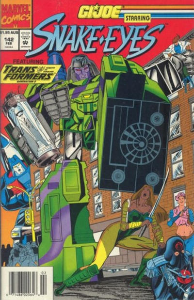 Cover for G.I. Joe, A Real American Hero (Marvel, 1982 series) #142 [Direct Edition]