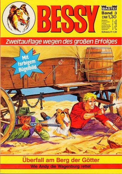 Cover for Bessy (Bastei Verlag, 1976 series) #3