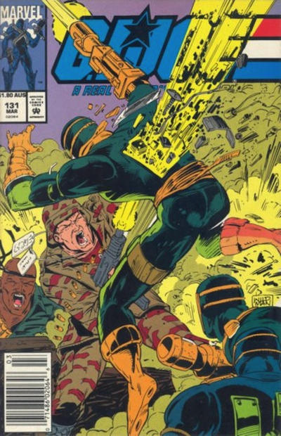 Cover for G.I. Joe, A Real American Hero (Marvel, 1982 series) #131 [Direct Edition]