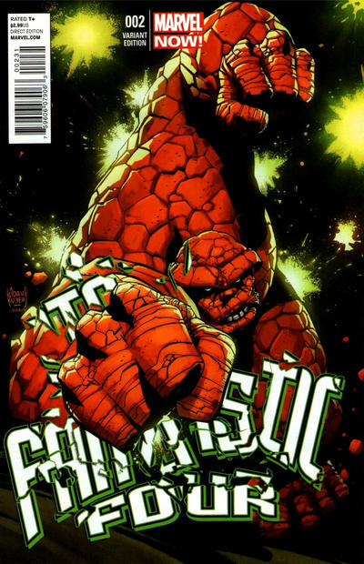 Cover for Fantastic Four (Marvel, 2013 series) #2